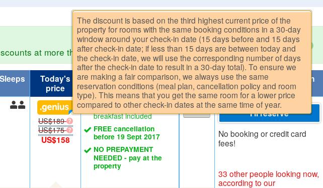 How Booking com manipulates you
