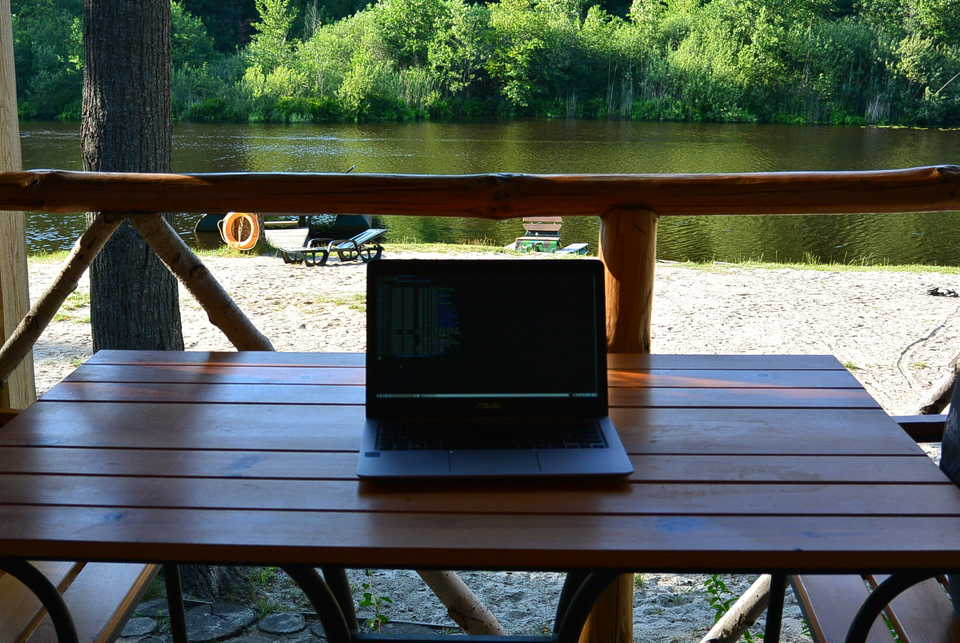 My workspace in Poltava oblast
